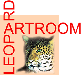 Leopard Art Room